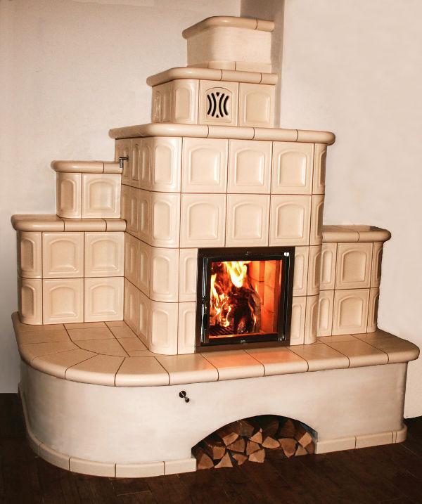 Kaminske peči na drva Na pot