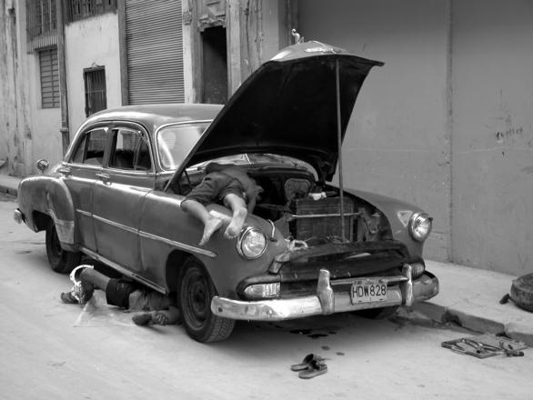 Popravilo avta