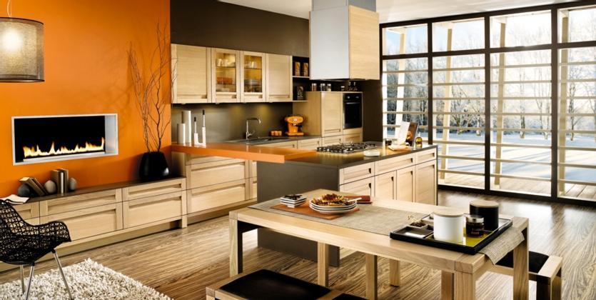 Moderne lesene kuhinje EOS