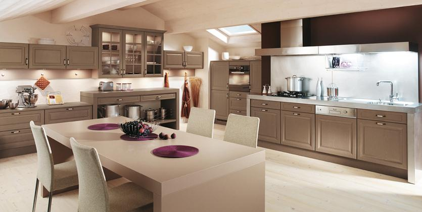 Ugodne lesene kuhinje