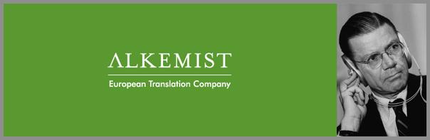 Alkemist - strokovni prevod besedila