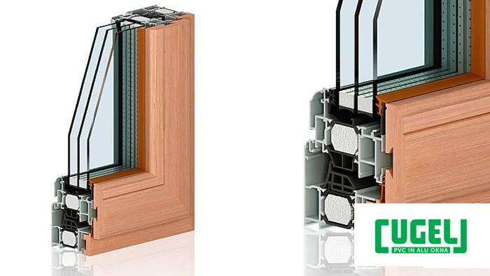 PVC okna cena