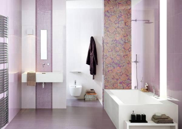 Keramika za kopalnice v imitaciji lesa