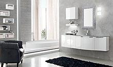 Moderne kopalnice in pohištvo