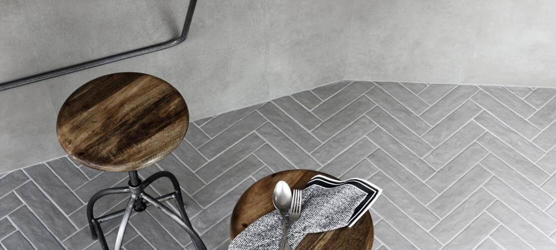 Keramične ploščice različnih oblik, velikosti, barv