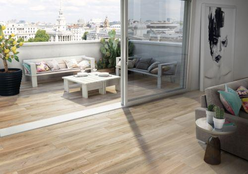 Ploščice v imitaciji lesa za balkon