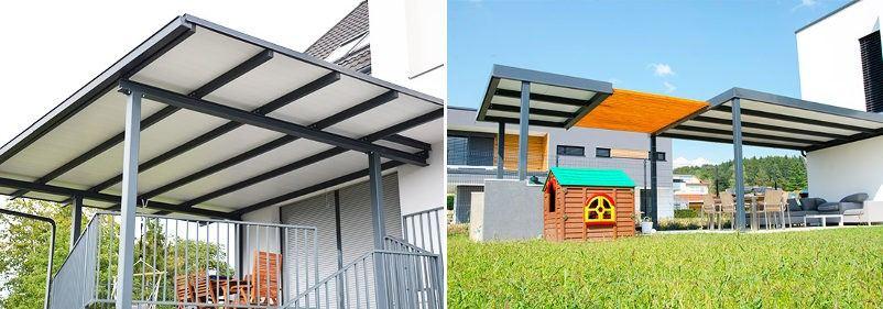 aluminijasti nadstreški za terase