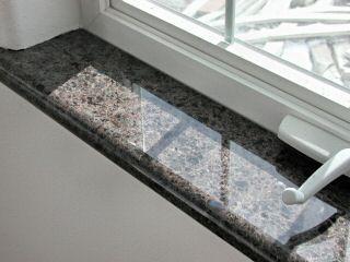 Kamnite okenske police - Kamnoseštvo Marnit