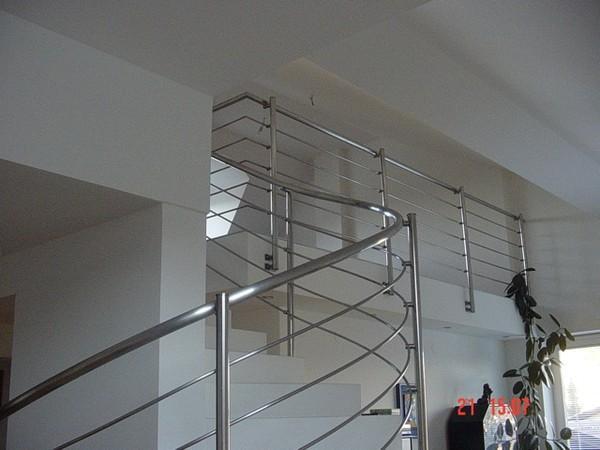 Notranja stopniščna ograja