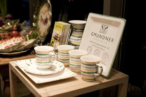 Srebrna žlica - Gmundner keramika