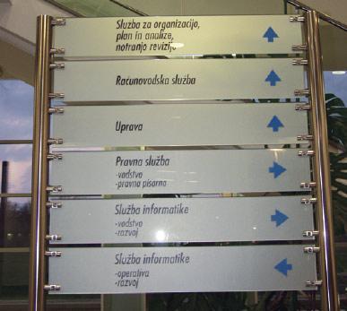 Informacijske tablice | Neonart