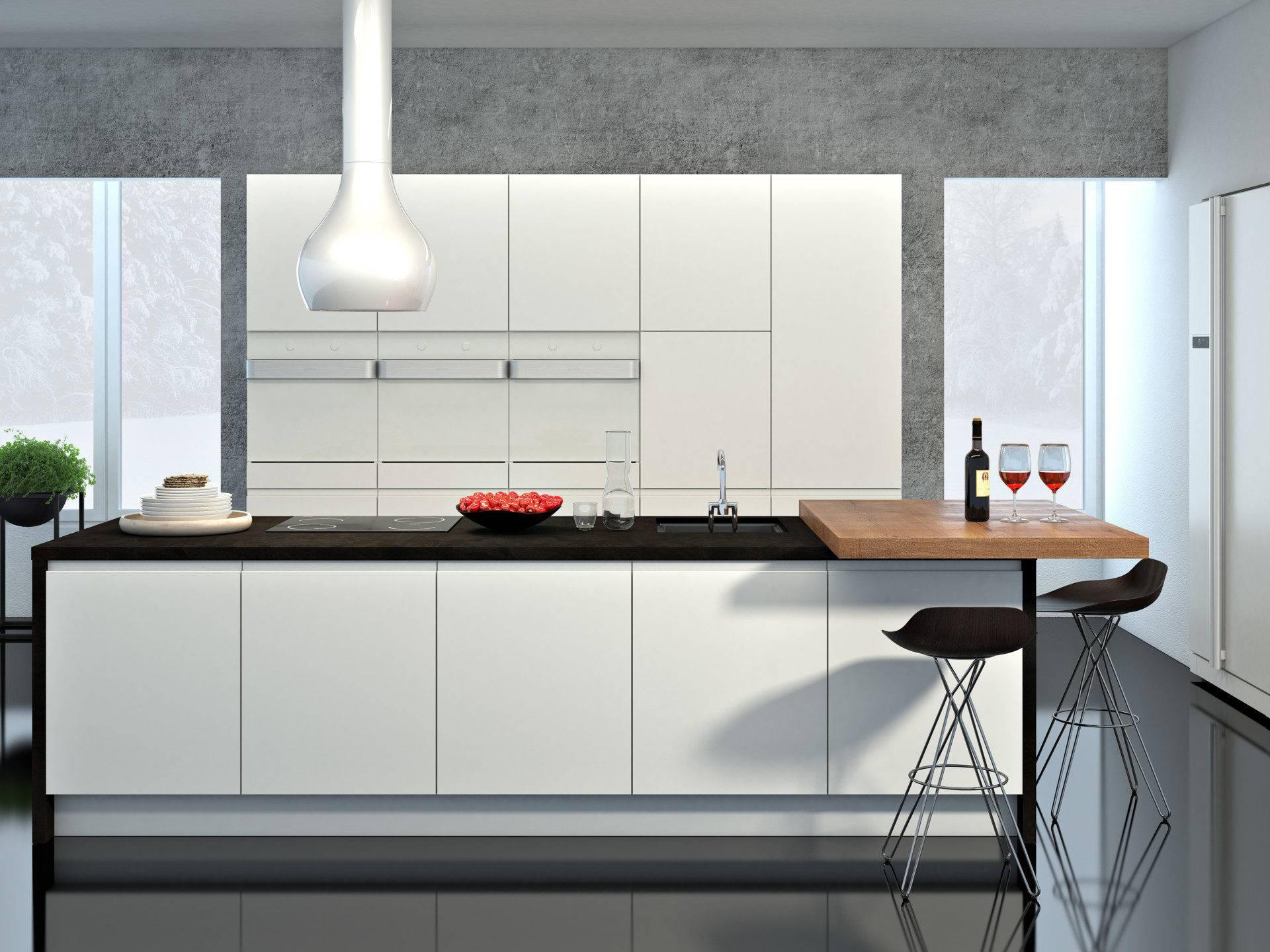 Mini bele kuhinje