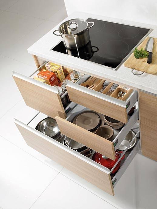Moderne kuhinje za male prostore Alples