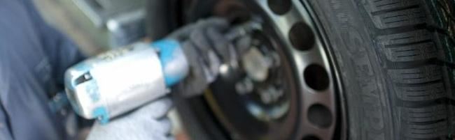 montaža pnevmatik Špan