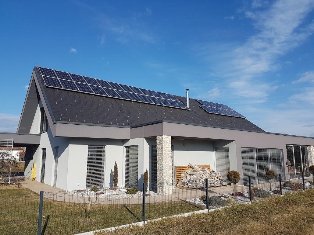 Pridobivanje električne energije iz sonca