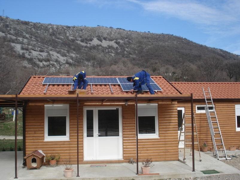 izkoristek sončne elektrarne pri samooskrbi