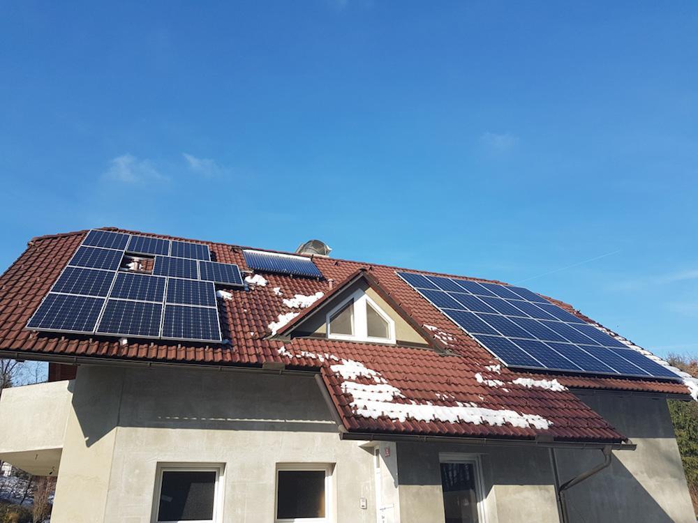 sončna elektrarna za vikend (opis)