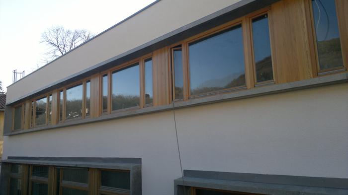 Lesena okna in vrata