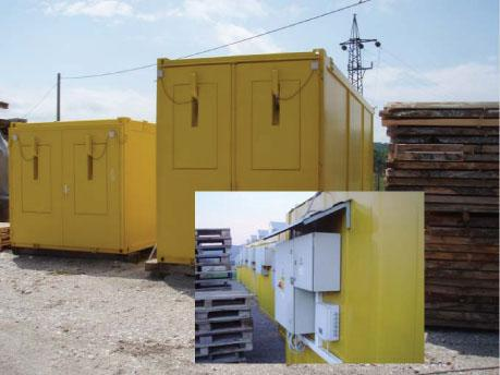 Wood drying kiln Futura