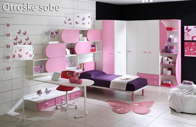 Otroške sobe - pohištvo