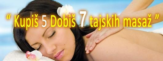 Tajske masaže | Popust