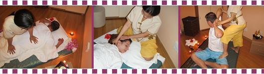 Tajske masaže