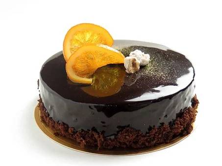 Torta s čokoladno glazuro