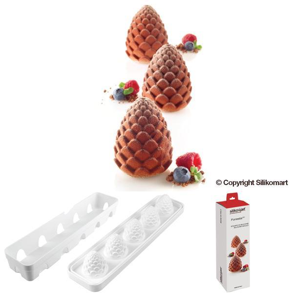 Uporaba silikonskih modelov za sladice