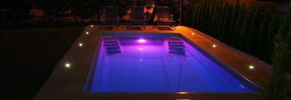 Dodatna oprem - Osvetlitev v bazenu