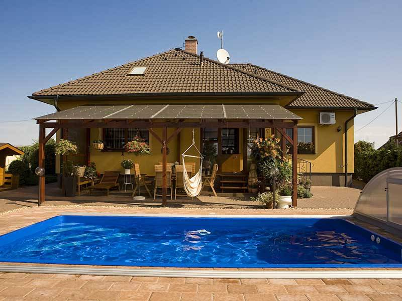 Čudoviti montažni vgradni bazen za vsak dom