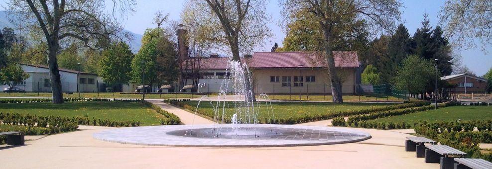 Vodna fontana Ema