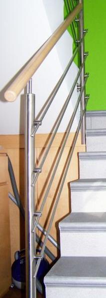 Rostfrei ograja za stopnice