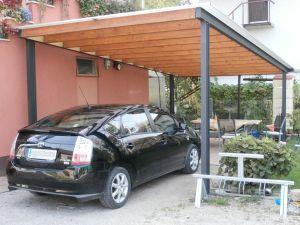 Avtomobilski nadstrešek - konstrukcija