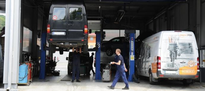Servis gospodarskih vozil