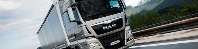 Servis tovornjakov MAN