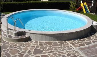Vgradni montažni bazen