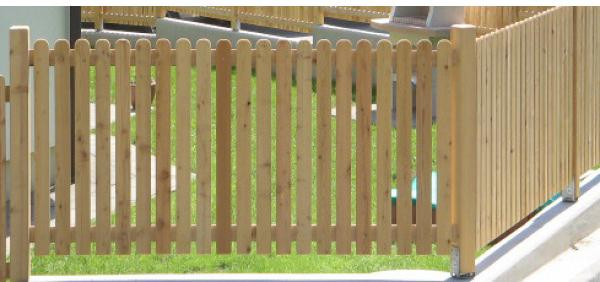 Les za ograjo