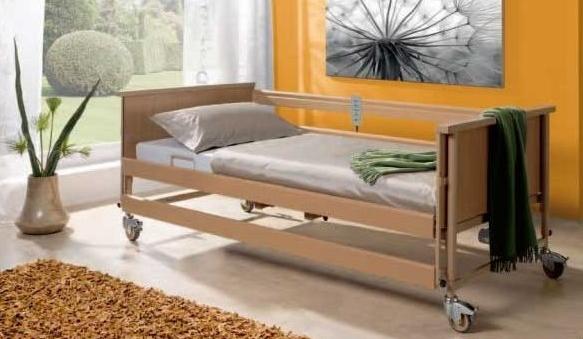 Električna negovalna postelja