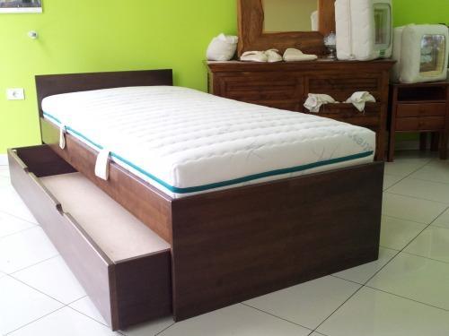 Postelje s predali