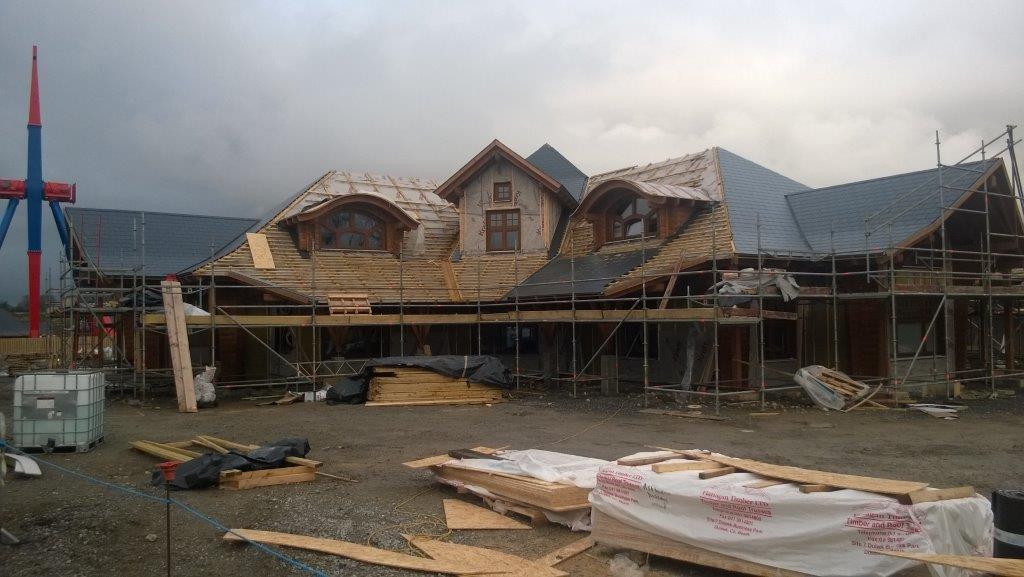 oprema lesene hiše