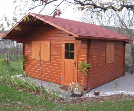 Lesena mobilna hiška