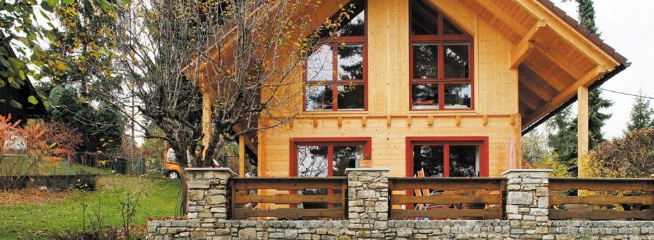 Gradnja lesene hiše na ključ