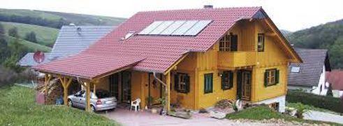 Varčna lesena hiša