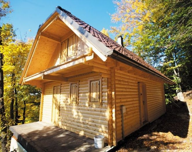 Montažne lesene hiše