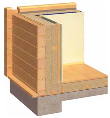 Notranja izolacija za lesene hiše
