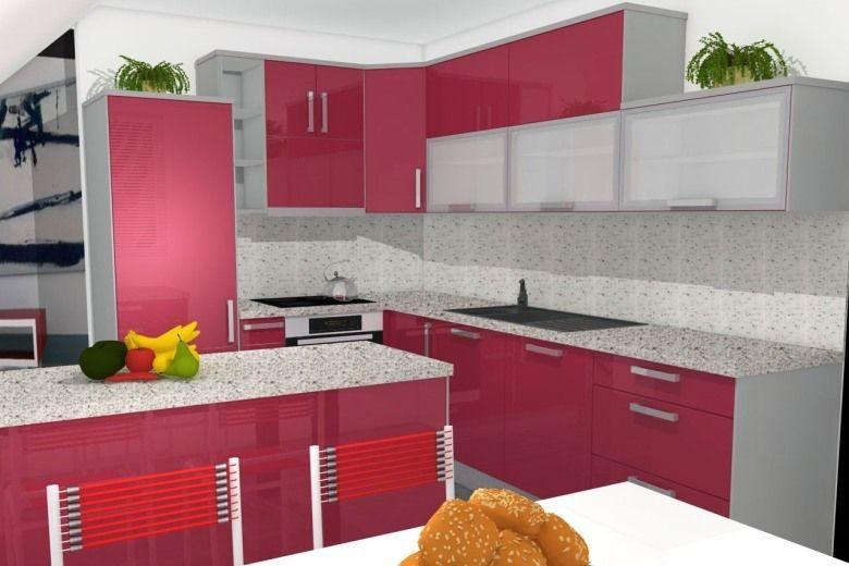 rdeča kuhinja