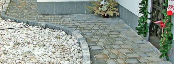 tlakovanje, polaganje tlakovcev, betonski robniki, granitne kocke, naravni kamen
