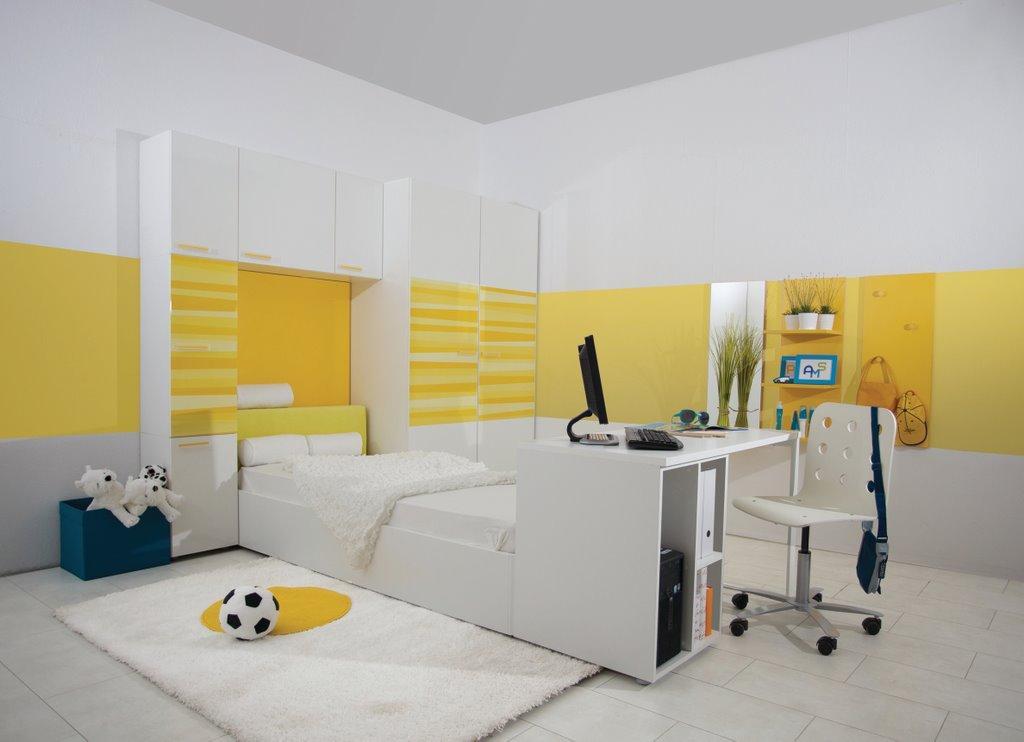 Moderna oprema mladinske sobe