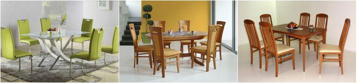 Jedilne mize in kuhinjski stoli
