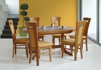 Leseni jedilni stoli